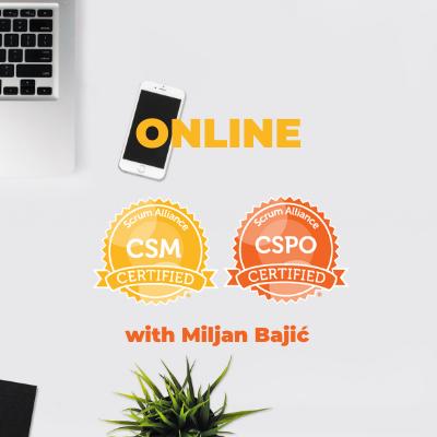 NEW - Online CSM & CSPO in July!